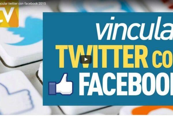 Conectar Twitter con Facebook