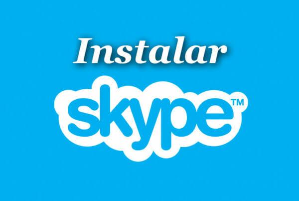 instalar skype en un computador
