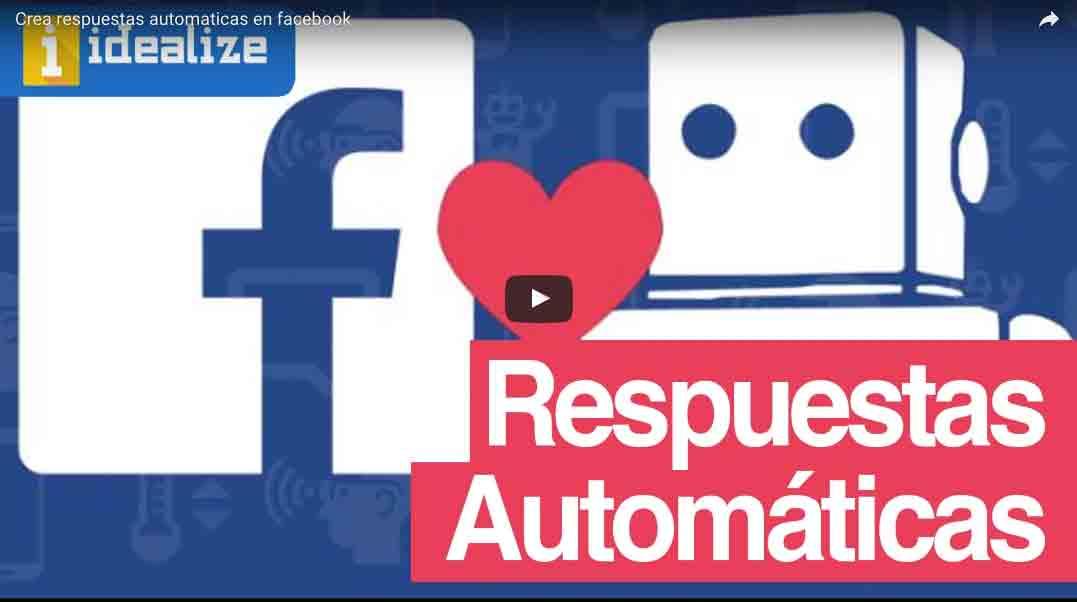Como crear respuestas automaticas en facebook – Respondedores